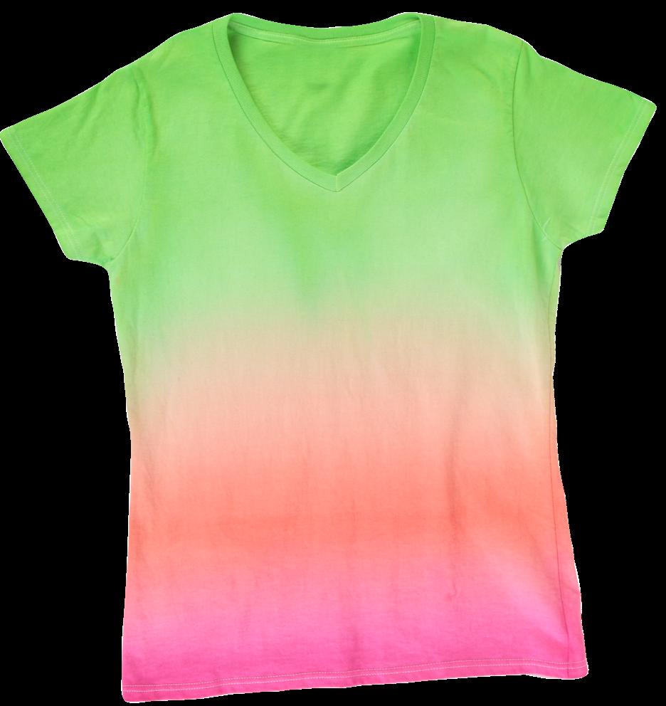 Picture of Ombre Tie-Dye Technique