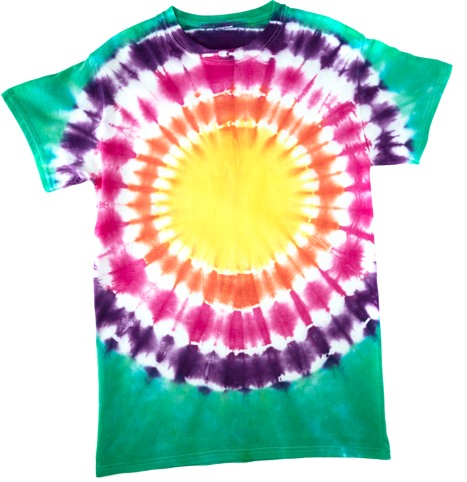 Picture of Bullseye Tie-Dye Technique