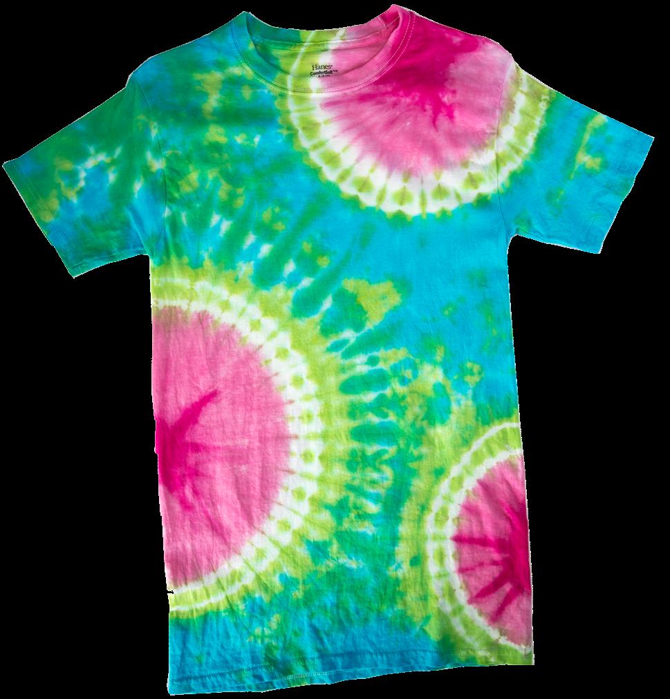 Picture of Sunburst Tie-Dye Technique