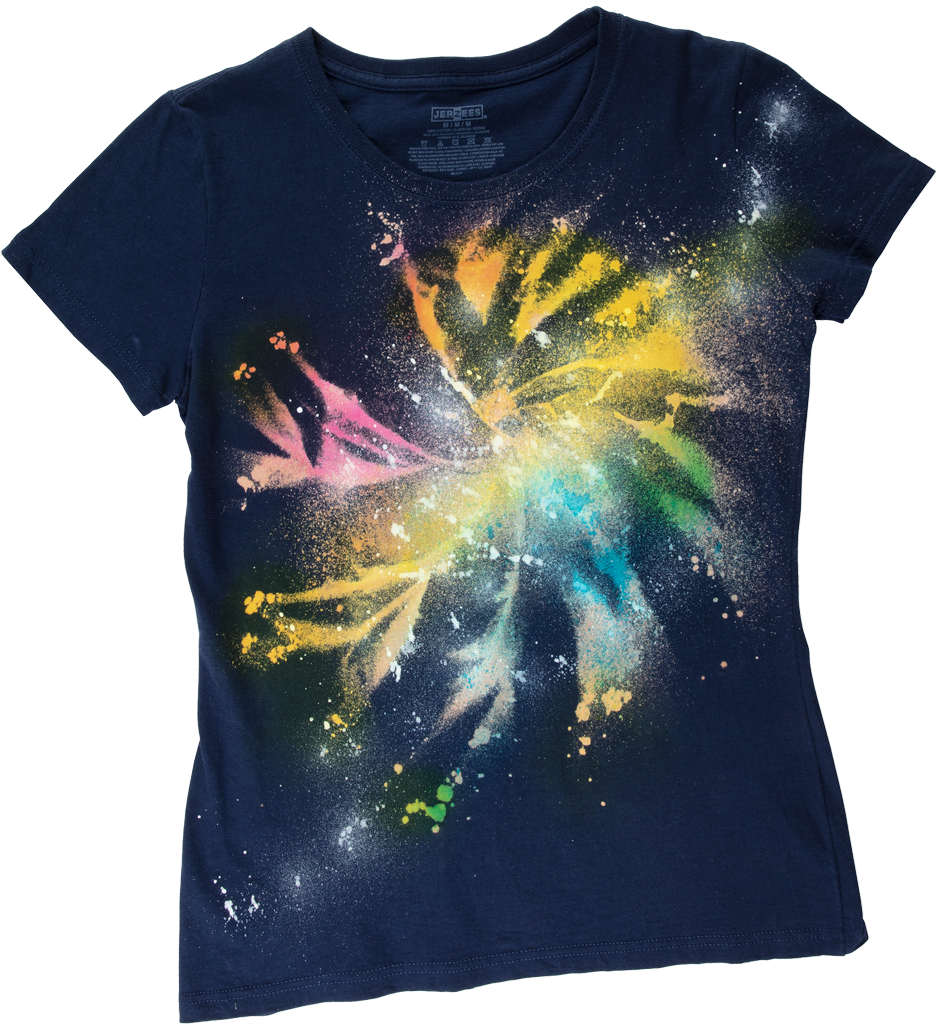 Picture of Galaxy Tie-Dye Technique