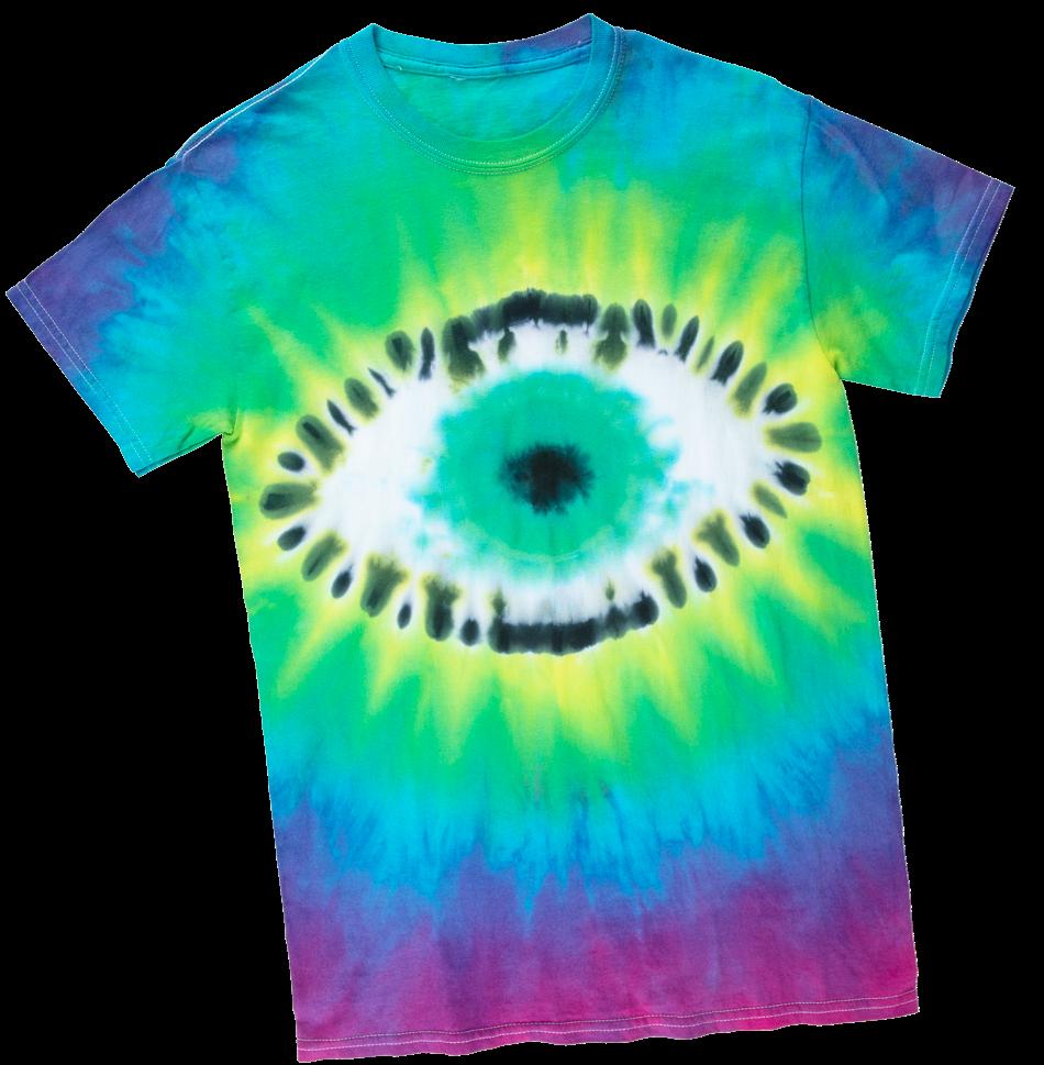 Picture of Eyeball Tie-Dye Technique