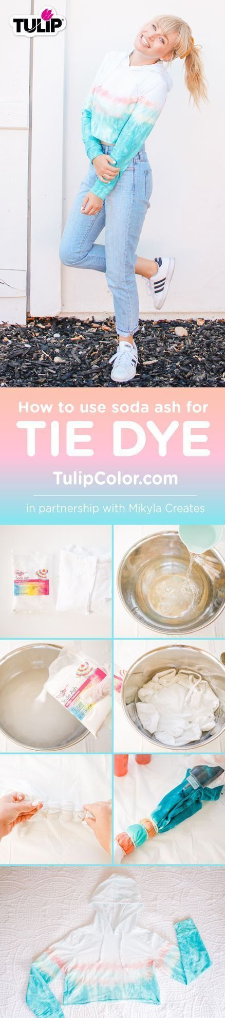 How to Use Soda Ash for Tie Dye