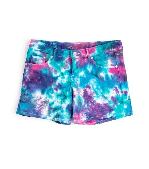 Carousel Tie Dye Shorts
