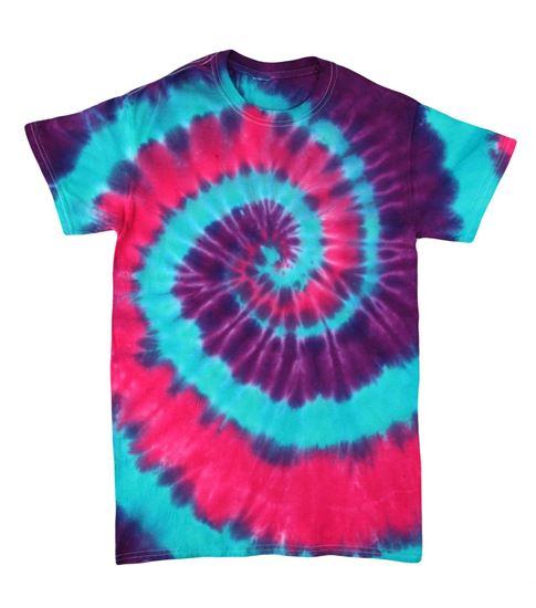 Carousel Spiral Tie Dye Shirt
