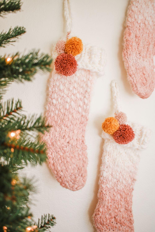 Tie-Dye Family Stockings