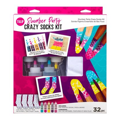 Picture of Tulip Slumber Party Crazy Socks Kit