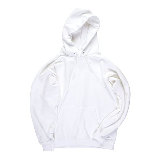 Adult White Hoodie Large
