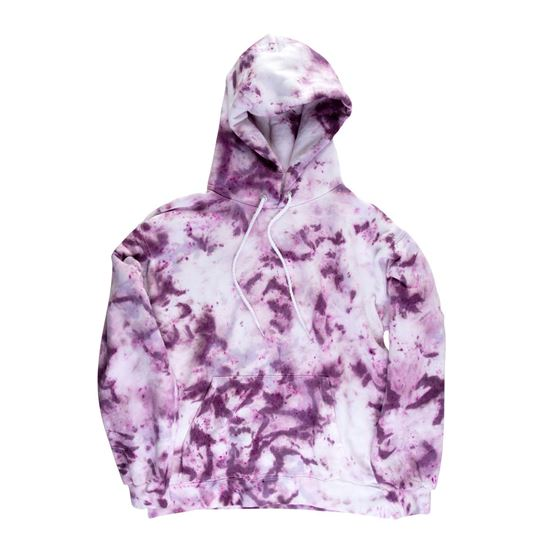 Adult Dyed Hoodie Large