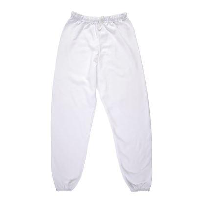Adult White Sweatpants Small