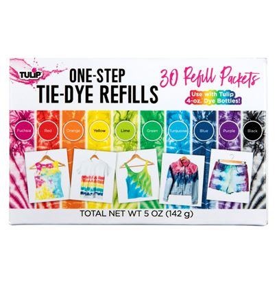 One-Step Tie-Dye Refills 30 Pack