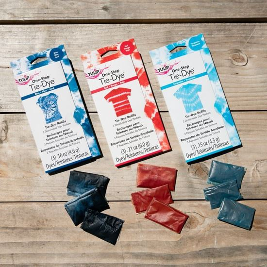 One-Step Tie-Dye Refills Red