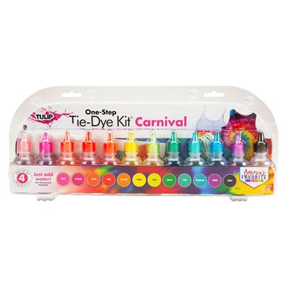 One-Step Tie-Dye Kit Carnival 12-Pc. Mini Kit