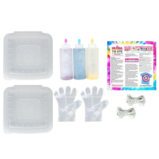 Ultra Bright Tie Dye 30-Pc. Kit content