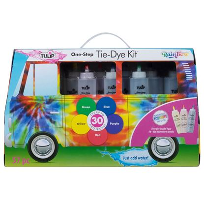 Rainbow One-Step Tie-Dye Road Trip Kit front of box