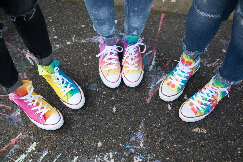 Tie-Dye Shoes