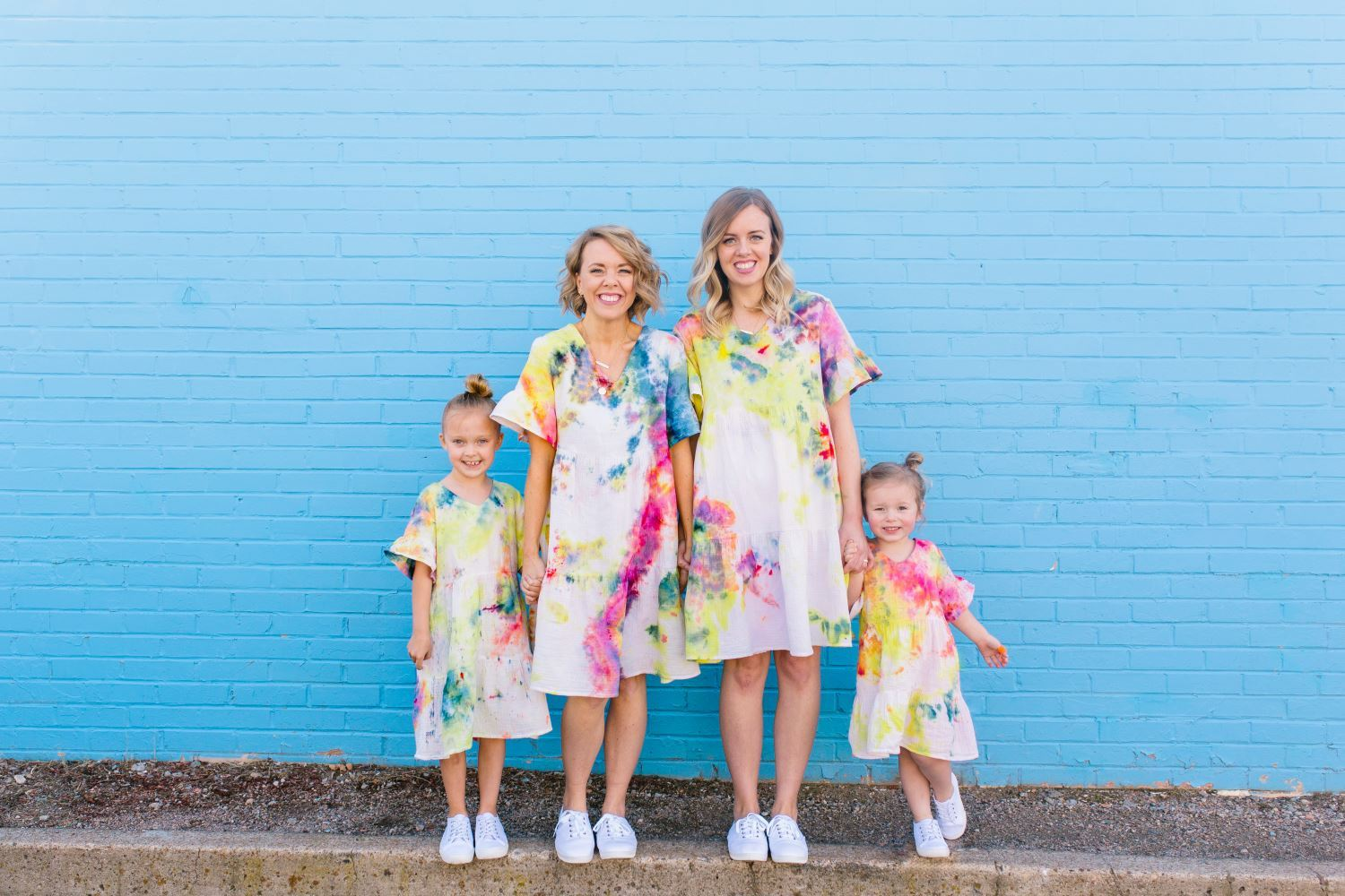 Mommy and Me Tie-Dye Dresses