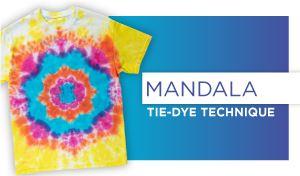 Mandala Tie-Dye Technique
