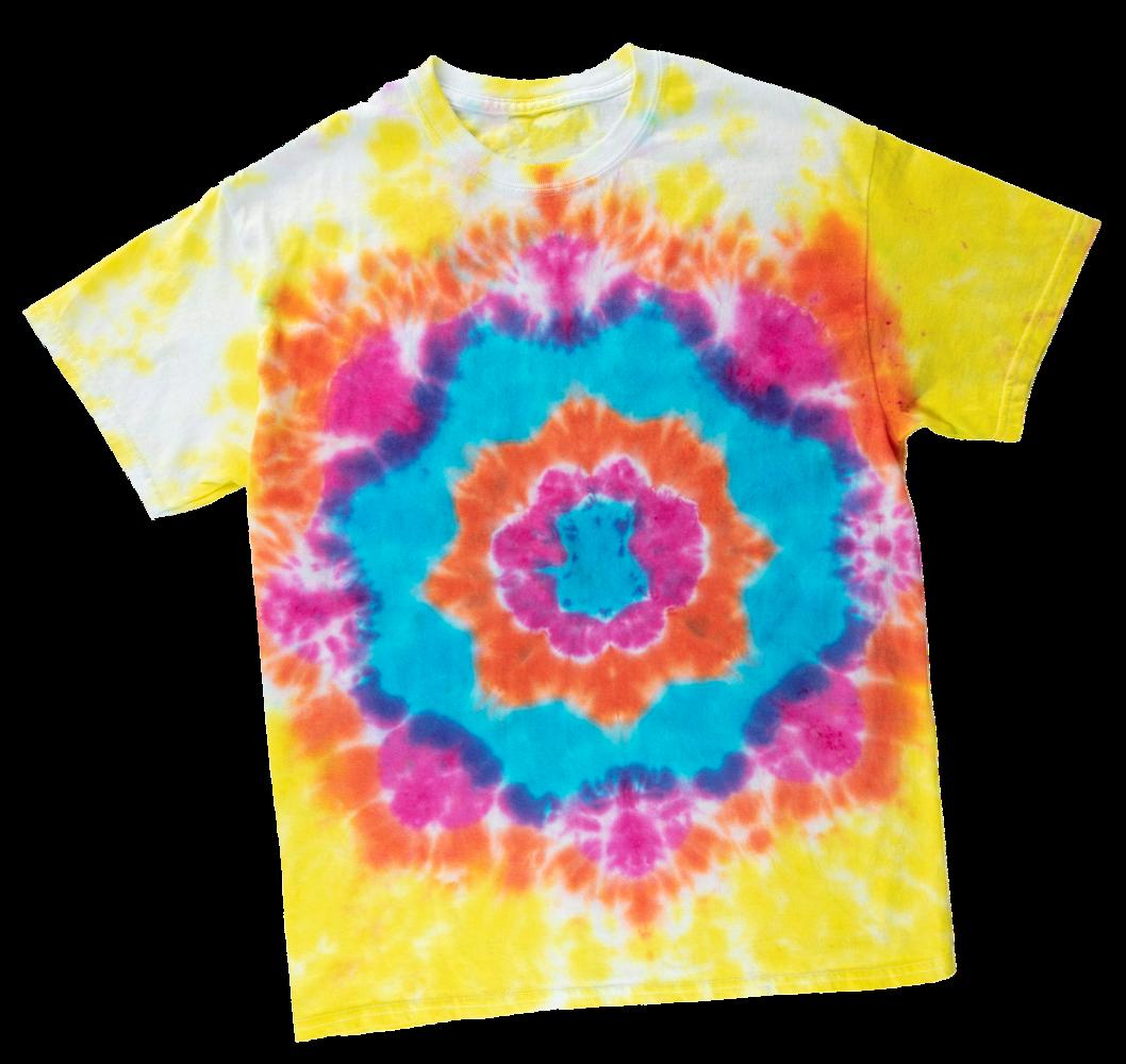 Picture of Mandala Tie-Dye Technique