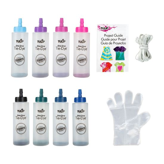 One-Step Tie-Dye Kit Celestial contents