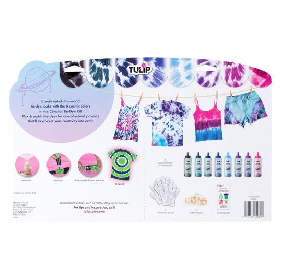 One-Step Tie-Dye Kit Celestial back of box
