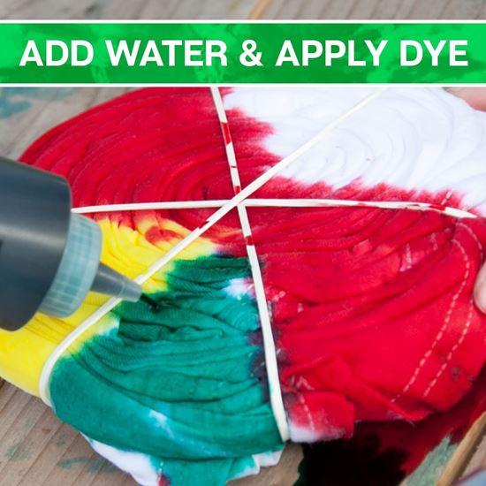 Tie-Dye Party Kit add colors