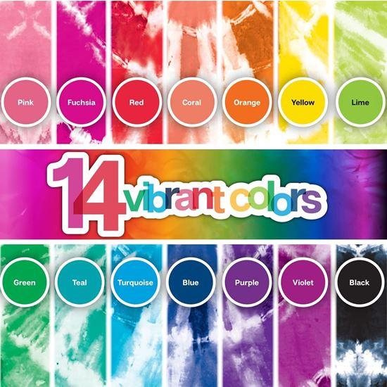 Tie-Dye Party Kit 14 colors