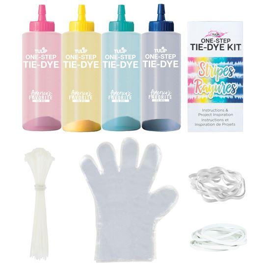 45523 Stripes Technique Tie-Dye Kit contents