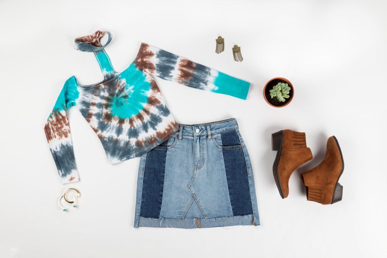 Fall Tie-Dye Clothing DIYs