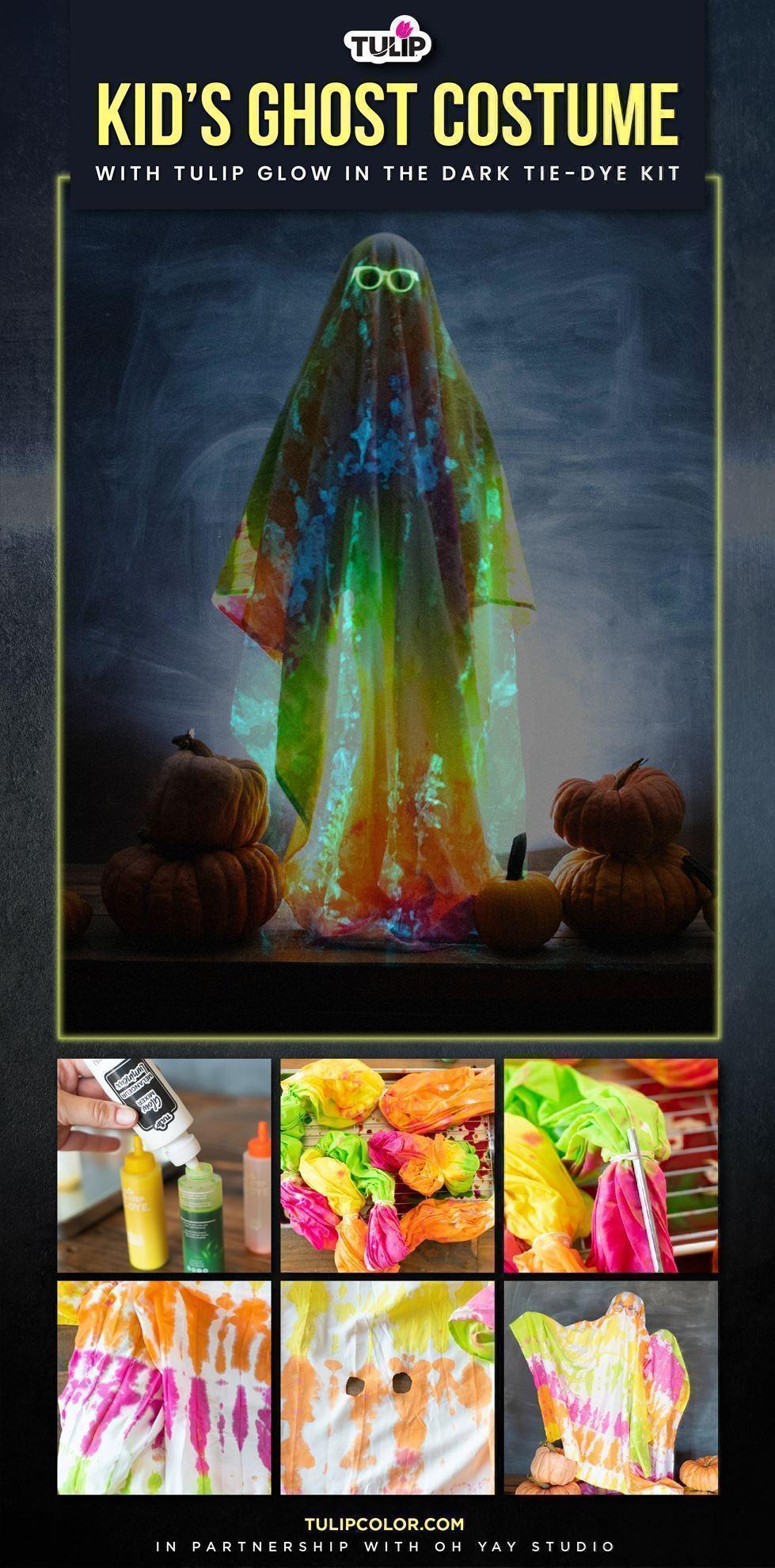 Glow in the Dark Halloween Ghost Costume